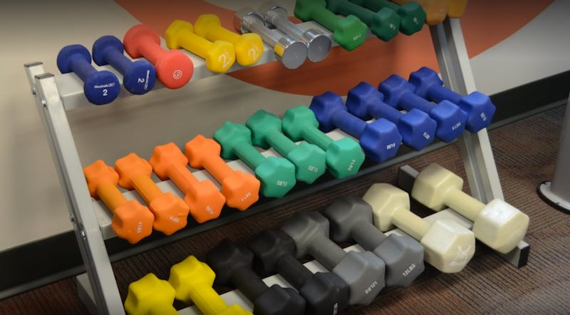Gym Weights - The Lutheran Home